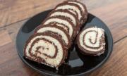 Рецепта на деня: Шоколадово-кокосово руло