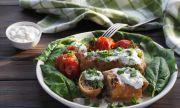 Рецепта за вечеря: Зеленчуци в хляб