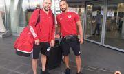 ЦСКА излетя за лагера си в чужбина, футболистите показаха огромно самочувствие