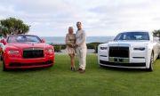 Двойка отпразнува годишнината си с покупка на два чисто нови Rolls-Royce-а