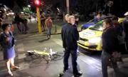 """Инцидент с протестиращ на бул. """"Цар Освободител"""" (СНИМКИ)"""