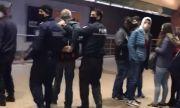 Арестуваха зрелищно бивш зам.-кмет без маска на столичната метростанция