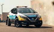 Nissan Leaf стана мобилна батерия за спасители