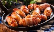 Рецепта за вечеря: Наденички в бекон