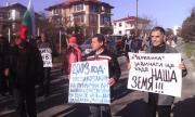 Нов протест в Черноморец заради военни имоти