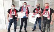 ЦСКА дари ново болнично оборудване за COVID отделението на Свищовската болница