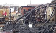 Разследват пожара в Разлог, оставил няколко семейства на улицата