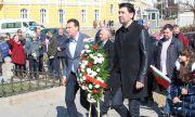 Калоян Паргов: Прекланяме се пред подвига на героите, които извоюваха свободата ни