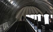 Пътници влизат в московското метро с лицево разпознаване