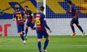 Барселона успя да се справи с Наполи и е на четвъртфинал