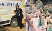 Гъркиня помага на бедните в Правец (СНИМКИ)
