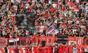 ЦСКА излезе с важна информация за привържениците за двубоя с Клуж