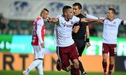 Мартин Минчев прави фурор в Чехия, отбеляза два гола и записа асистенция