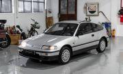 Колко според вас струва този CRX от 90-те с пробег от само 17км?