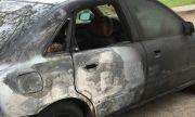 """""""Мерцедес"""" изгоря като факла след катастрофа, шофьорът е в болница"""