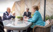 Какво си казаха Меркел и Байдън