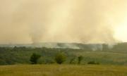 Военни помагаха за гасенето на пожар край ямболско село