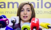 Мая Санду свиква протести в Молдова