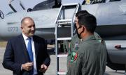 Държавният глава: Тревожно ниският нальот на летците застрашава сигурността на България СНИМКИ