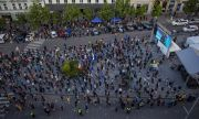 Хиляди на протест в Чехия