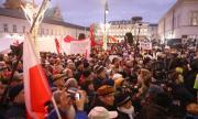 Хиляди на демонстрация във Варшава