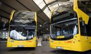 Общественият транспорт в Германия на протест