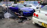 Из автоморгите на Хонконг (ВИДЕО)