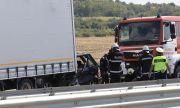 Шофьор на ТИР загина при тежка катастрофа на