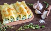 Рецепта за вечеря: Канелони със спанак и рикота