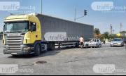 Транспортен хаос и блокада на Кукленско шосе
