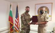 Шефът на отбраната на посещение в Ново Село