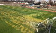 Вандали съсипаха терена на Левски-Раковски за пореден път