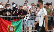 Кристиано Роналдо пристигна на базата на Ювентус, предстоят разговори