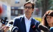 В Скопие! Стево Пендаровски осъди изгарянето на българското знаме