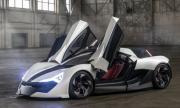 """Високоскоростен автомобил в стил """"кибер дракон"""""""