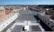 Страстната седмица във Ватикана ще е без вярващи