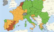 България вече е в зелената COVID-зона на картата на ЕС