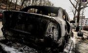 Подпалиха автомобил на македонско консулство