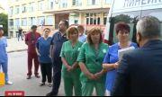 Спешните медици на протест заради заплащането за работа с болни от COVID-19