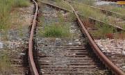 Товарен влак дерайлира на гара