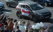 "Демонстрации ""за"" и ""против"" Лукашенко в Минск"