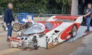 """Класическо състезателно Porsche за 1 милион евро катастрофира на """"Спа"""" (ВИДЕО)"""