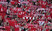 Феновете на ЦСКА бяха замеряни с камъни във Враца