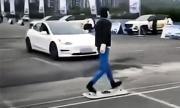 Tesla Model 3 се издъни в тест за автоматично спиране (ВИДЕО)