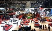 Audi, BMW и Mercedes на салона в Женева