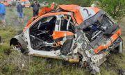Ужасяваща катастрофа прекъсна ралито в Сливен (ВИДЕО)