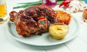 Рецепта за вечеря: Свински джолан с бира, мед и горчица