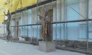 Скандален ремонт: Опаковаха с фибран католическа катедрала