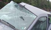Мъж е пострадал при катастрофа на пътя Сливен – село Тополчане