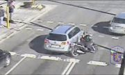 СДВР пусна стряскащи кадри от катастрофи с мотористи (ВИДЕО)